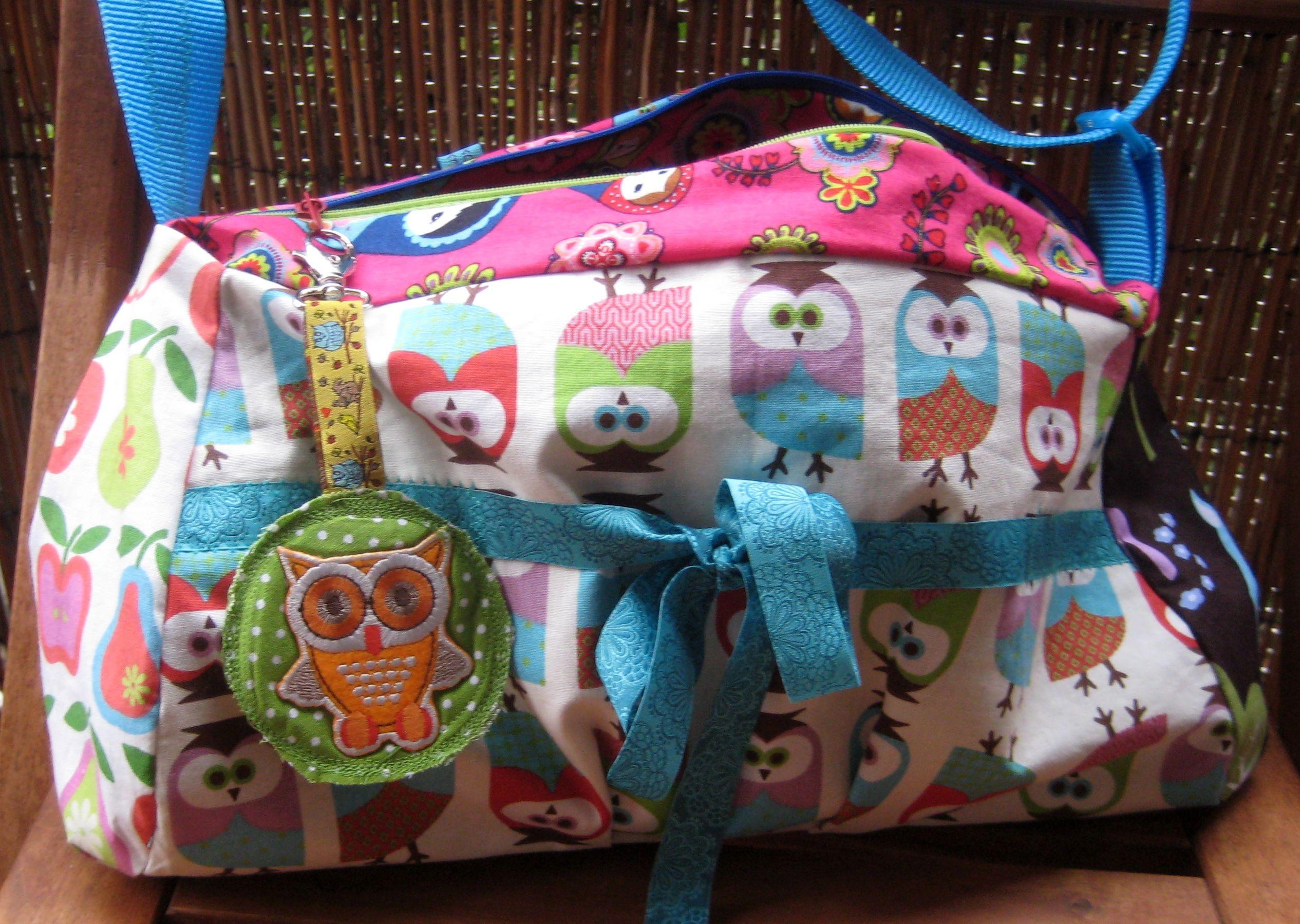 Kindertasche Bunte Stoffe Stoffe Ideen Pinterest