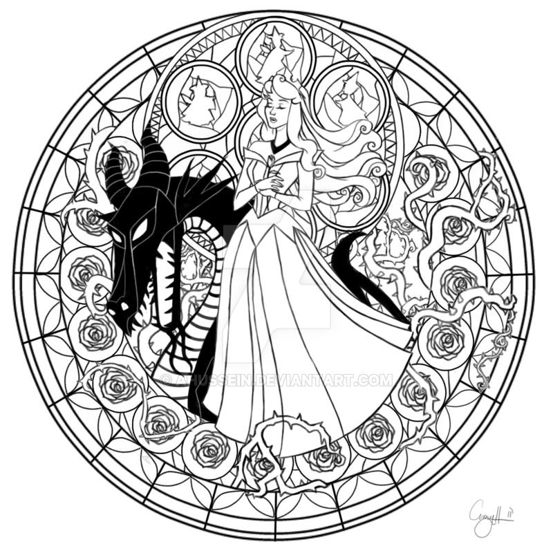 Station Of Awakening Aurora By Ahussein In 2021 Princess Coloring Pages Heart Coloring Pages Disney Princess Coloring Pages