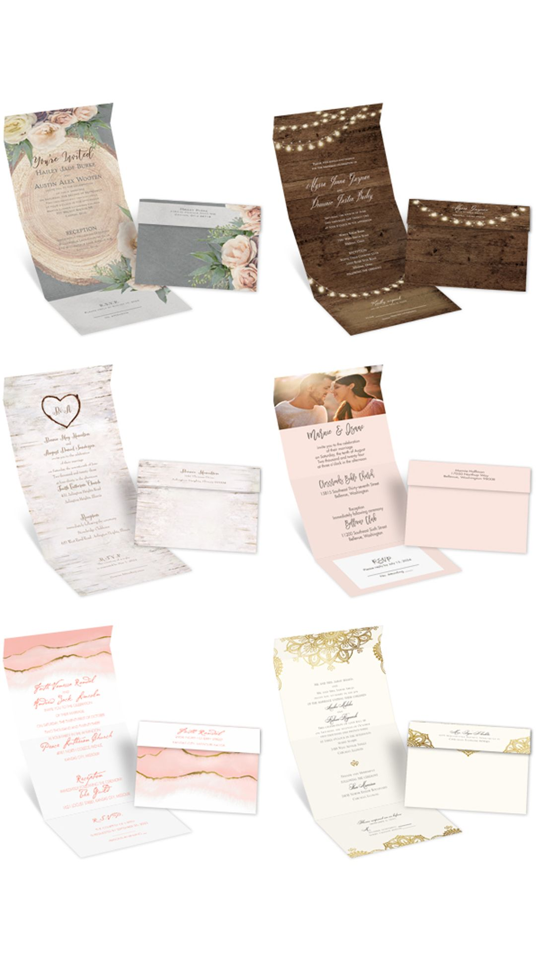 Seal And Send Wedding Invitations In 2020 Affordable Wedding Invitations Cheap Wedding Invitations Wedding Invitations