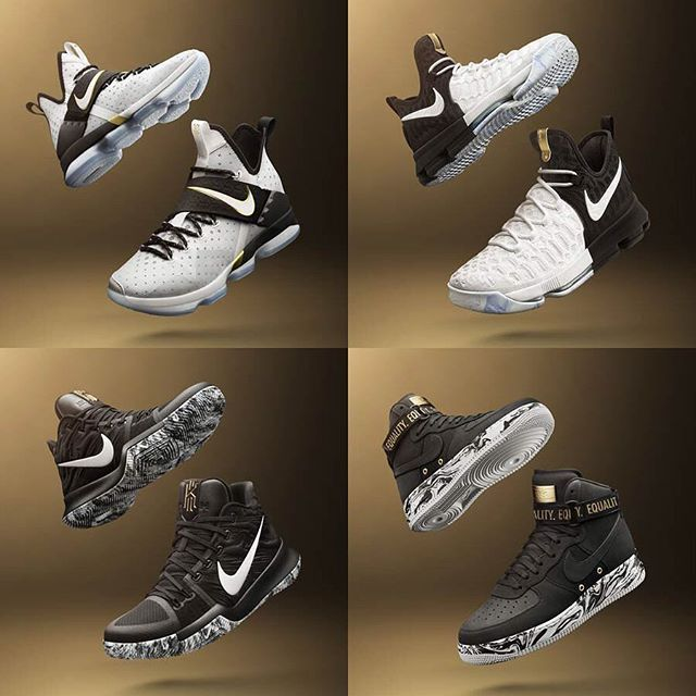 Nike's 2017 Black History Month Collection has been unveiled. Ten different  sneaker options will be