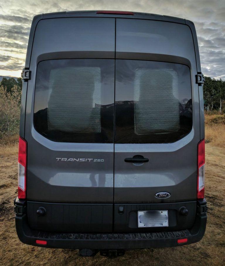 Insulated Window Covers For Camper Van Conversion Faroutride In 2020 Camper Windows Window Insulation Camper Van