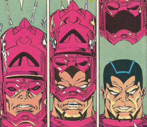 Galactus Without His Helmet Visuals For The Business Those That