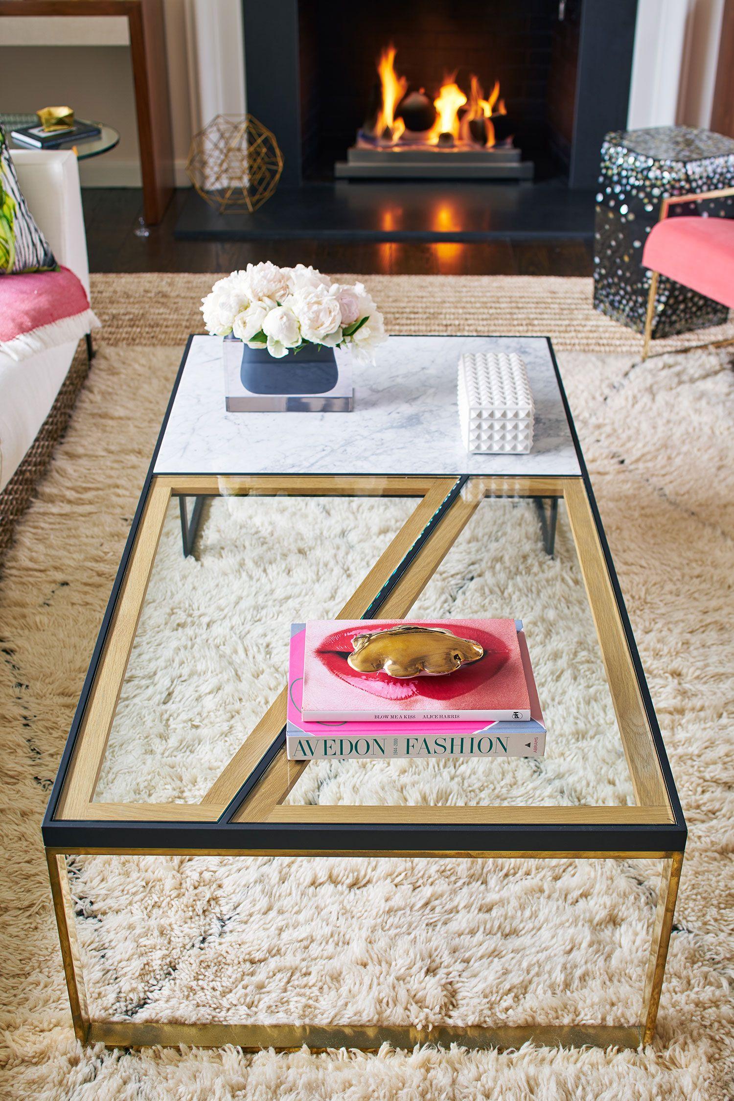 A U201cCalmly Awesomeu201d Boho Living Room   Rue · Living Room Coffee TablesGlass  ...