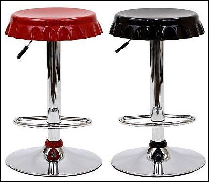 Soda Bottle Bar Stools 50s Bedroom Ideas 50s Theme Decor 1950s