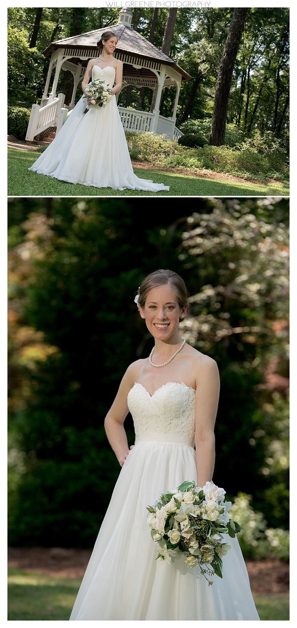ERIN CAPE FEAR BOTANICAL GARDENS BRIDAL SESSION