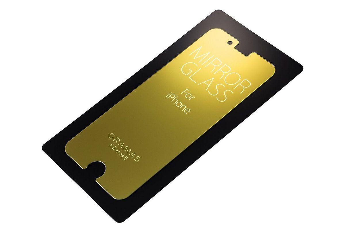 Schutzglas »GL-146GD Femme Schutzspiegelglas iPhone 8/7 gold«
