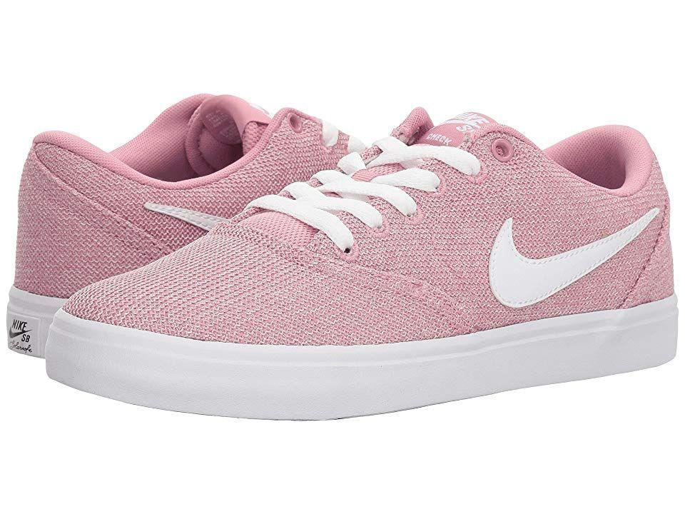 Nike Sb Check Solarsoft Canvas Premium Elemental Pink White Black Women S Skate Shoes Add Some Extra Pop Nike Shoes For Sale Pink Nike Shoes New Nike Shoes