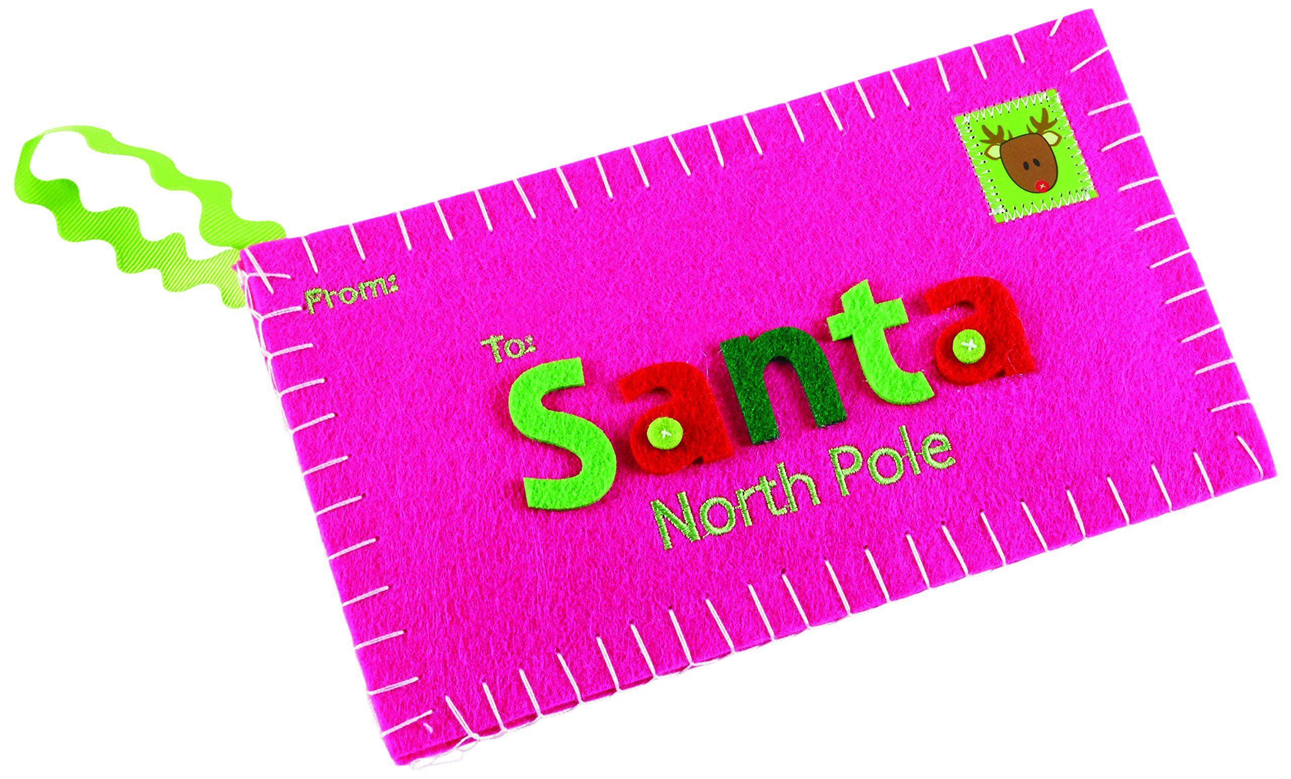 Mud Pie Ornament, Letter to Santa. Ornament has dimensional Santa ...