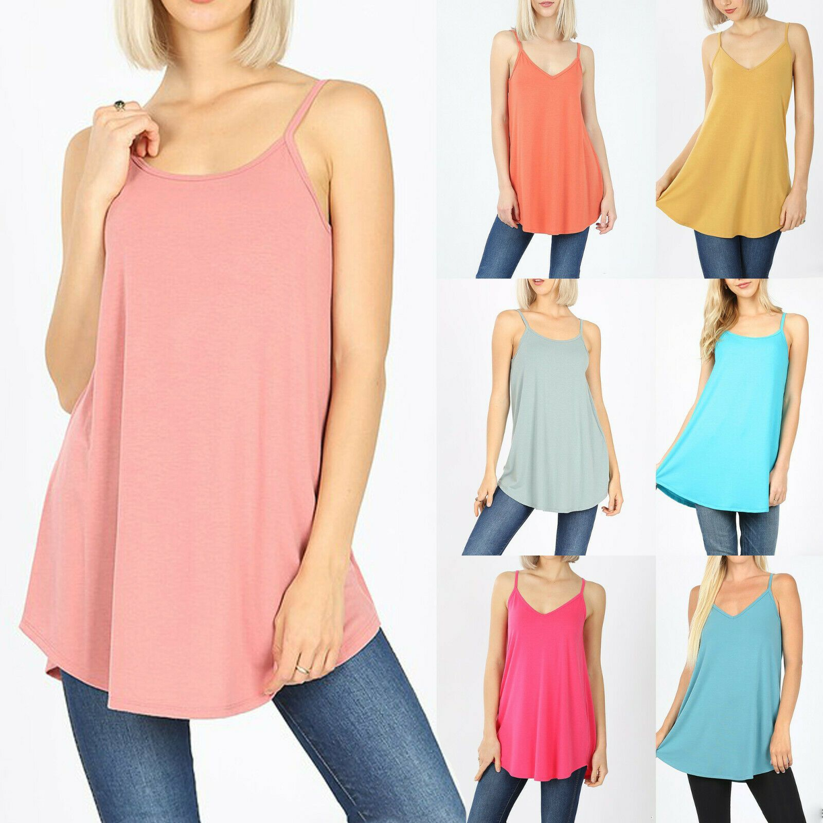 Sleeveless Blouse Oversized Top Loose Top Boho Tunic Top Long Blouse Cotton Blouse Casual Blouse Back Tank Top Boat Neck Top