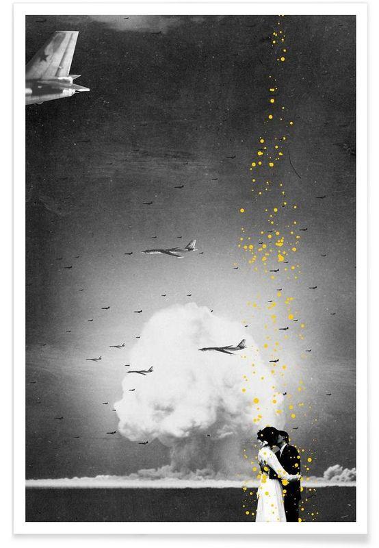 The Last Kiss als Premium Poster von Jason Brueck JUNIQE Bilder - wandbilder für küche