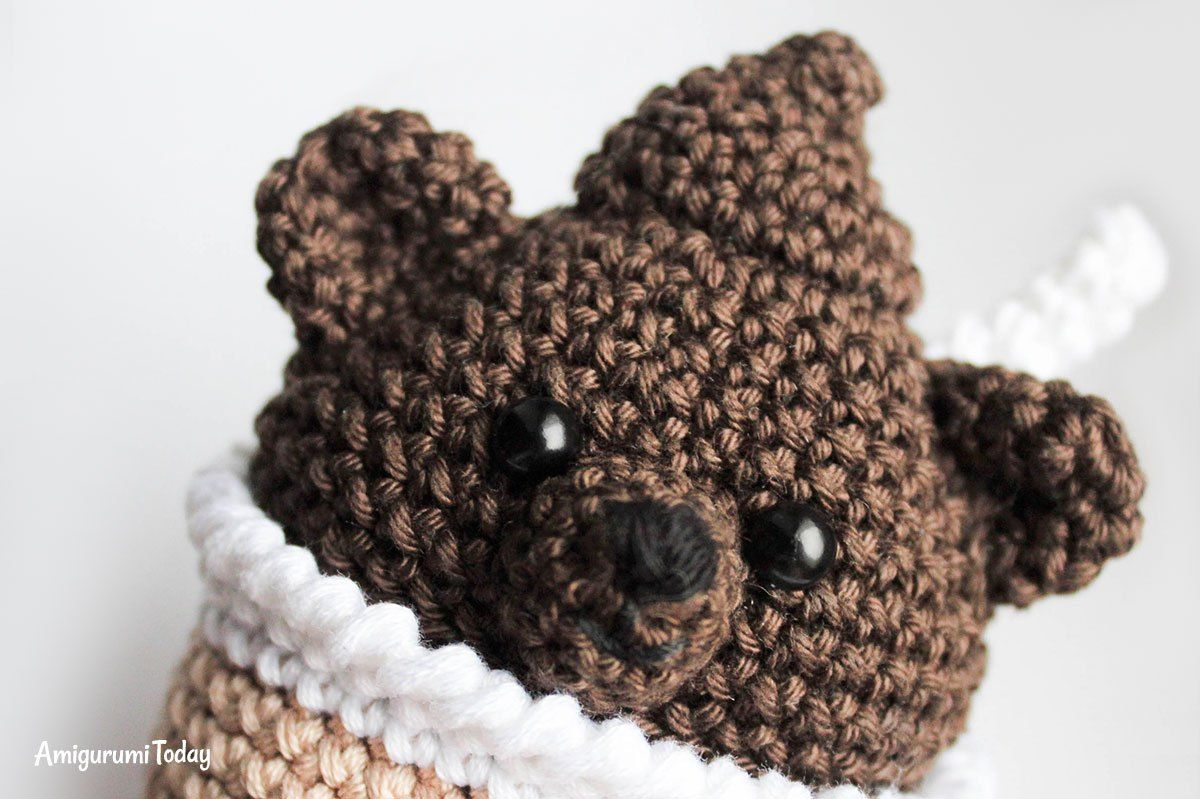 Crochet creamy choco bear free amigurumi pattern | Amigurumi ...