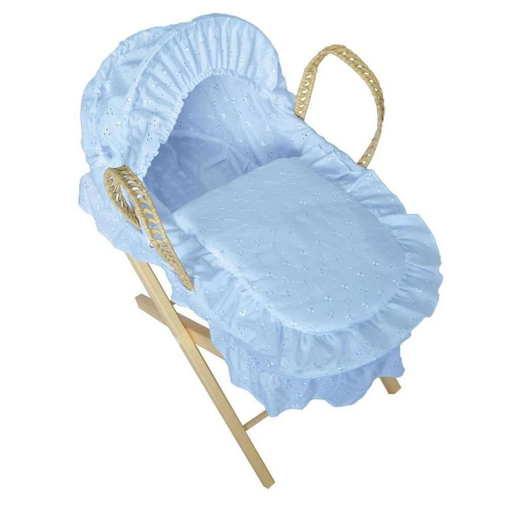 Pink Sparkles-Ideal For Christmas Baby Girls Dolls Moses Basket ...