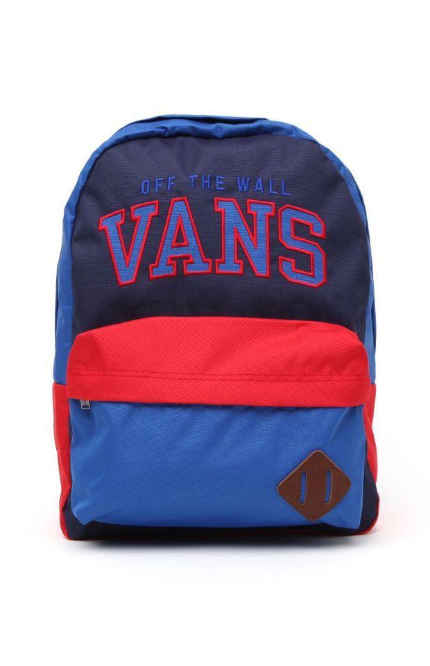 Vans Disney Old Skool II School Backpack Mens Backpacks Multi Color NOSZ