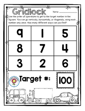 picture about Order of Operations Game Printable named Invest in of Functions Math Sport Math Things Invest in of