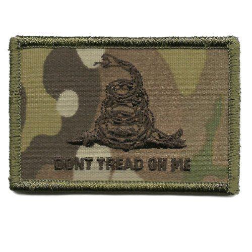 Gadsden /& Culpeper Spartan Warrior Morale Patch Coyote Tan Hook Back
