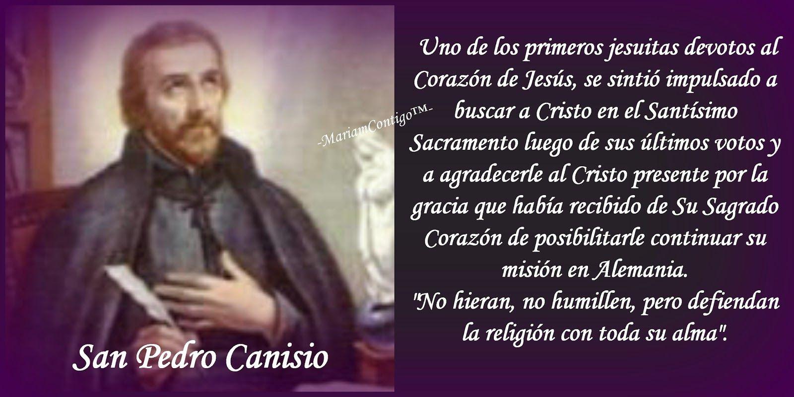 SAN PEDRO CANISIO   ' Pieter Kanijs'  Nimega,  Ducado de Güeldres, Holanda, Paises Bajos - Friburgo, Suiza   (1521 †1597)  Beatificado...