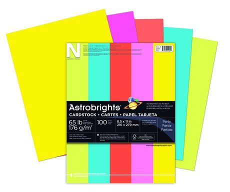Astrobrights Cover Stock Asst 5 Colors Stuff To Buy Color
