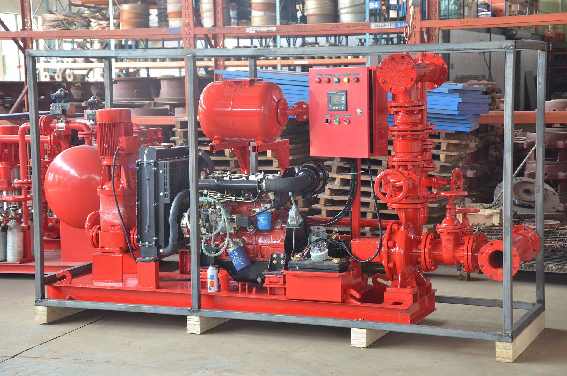 XBC6-30 diesel pump+Jockey pump fire fighting package set