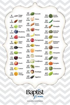 Baby size by week fruit comparison fetus compared to how big your is also rh pinterest