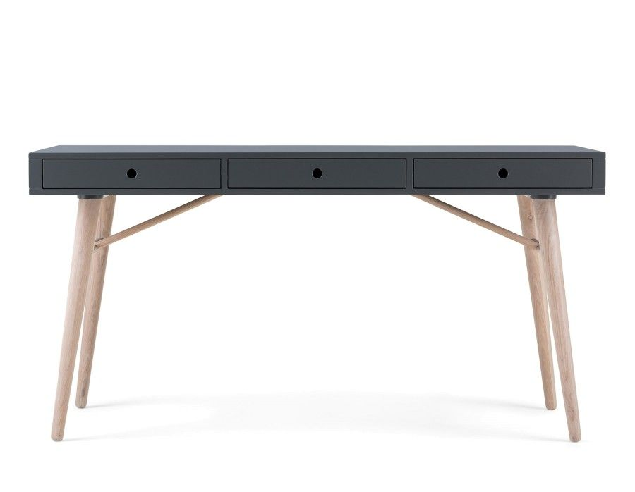 Emerson Desk 59 Grey Desk Modern Desk Office Desk