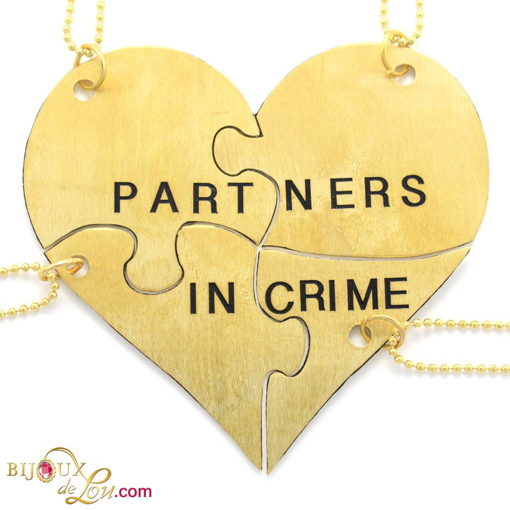 Partners In Crime 4 Piece Necklace Set