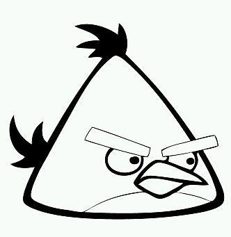 molde figura angry bird  Fiestas Mathias  Pinterest  Angry