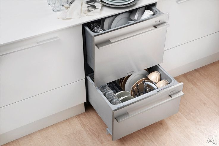 Fisher paykel dd24d semiintegrated double dishdrawer