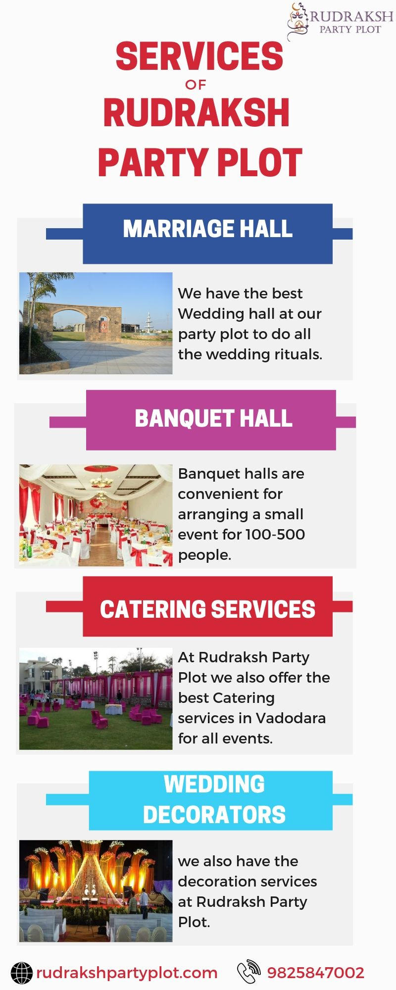 Rudraksh Banquet and Party Plot is the perfect place to