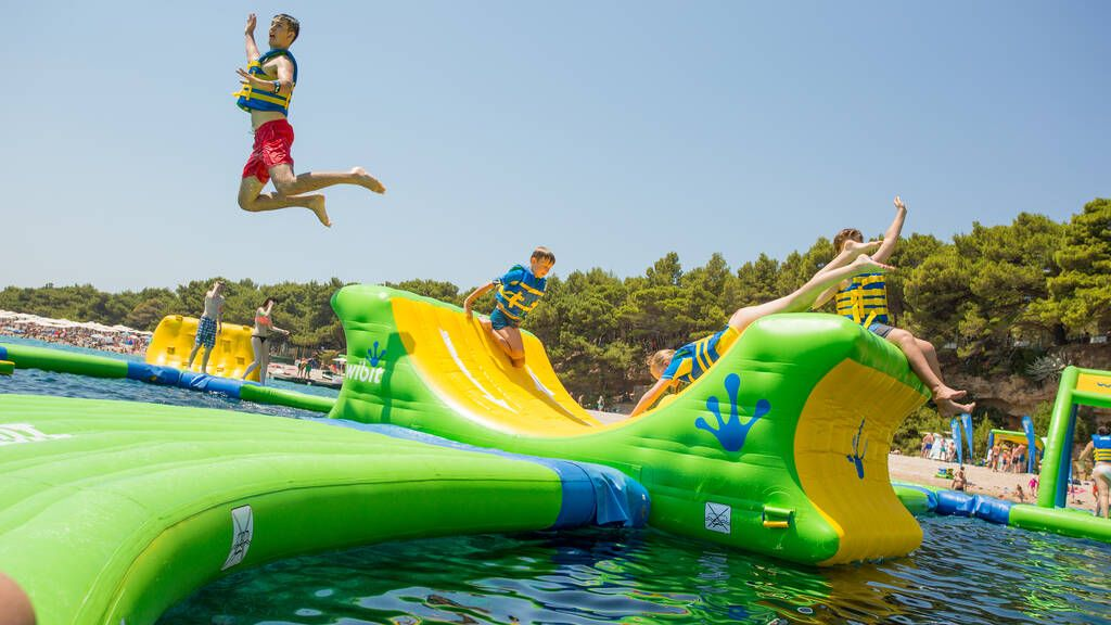 Woo! An epic inflatable water park will open just in time