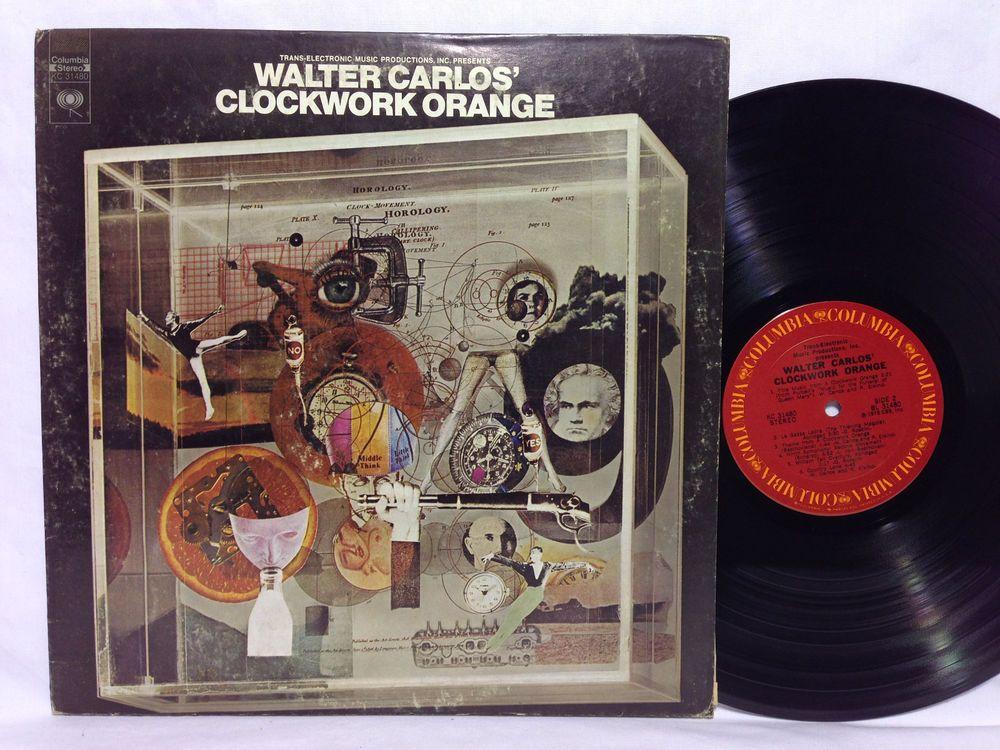 Walter Carlos Walter Carlos' Clockwork Orange Vinyl LP Album Record Columbia