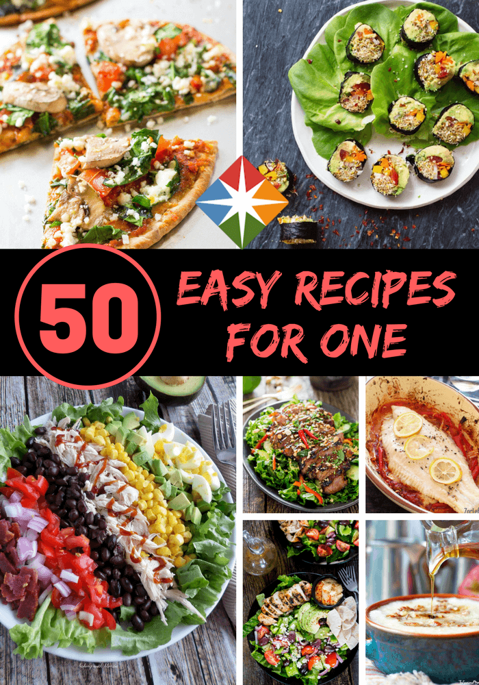 50 Simple and Savory Single-Serving Meals images