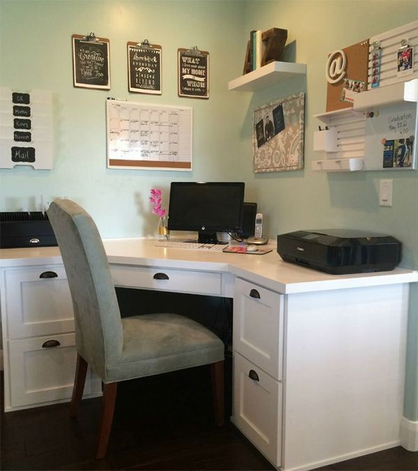 Small Space Homeoffice Corner Desk: Experts Reveal Home Office Decor Ideas That Help You