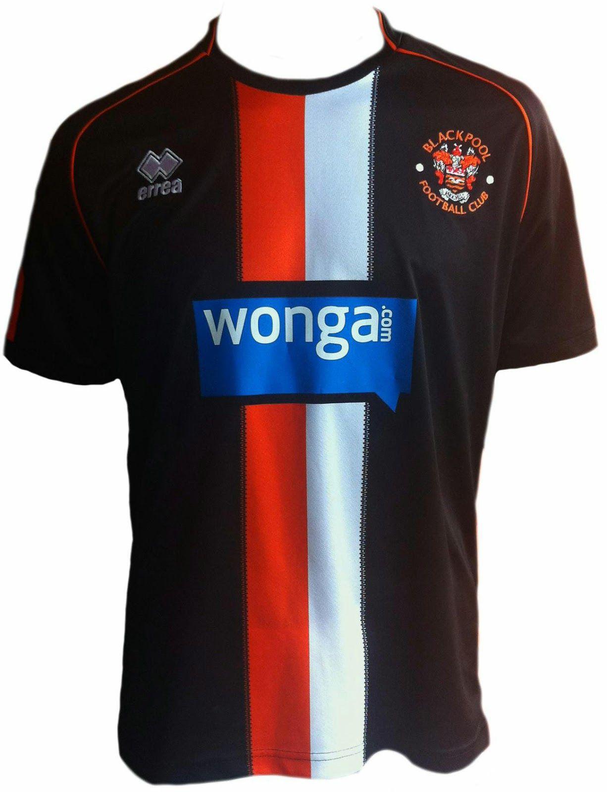 1720a1c84aca3 Blackpool FC 14-15 3rd | Errea Spesialdesign Draktsett