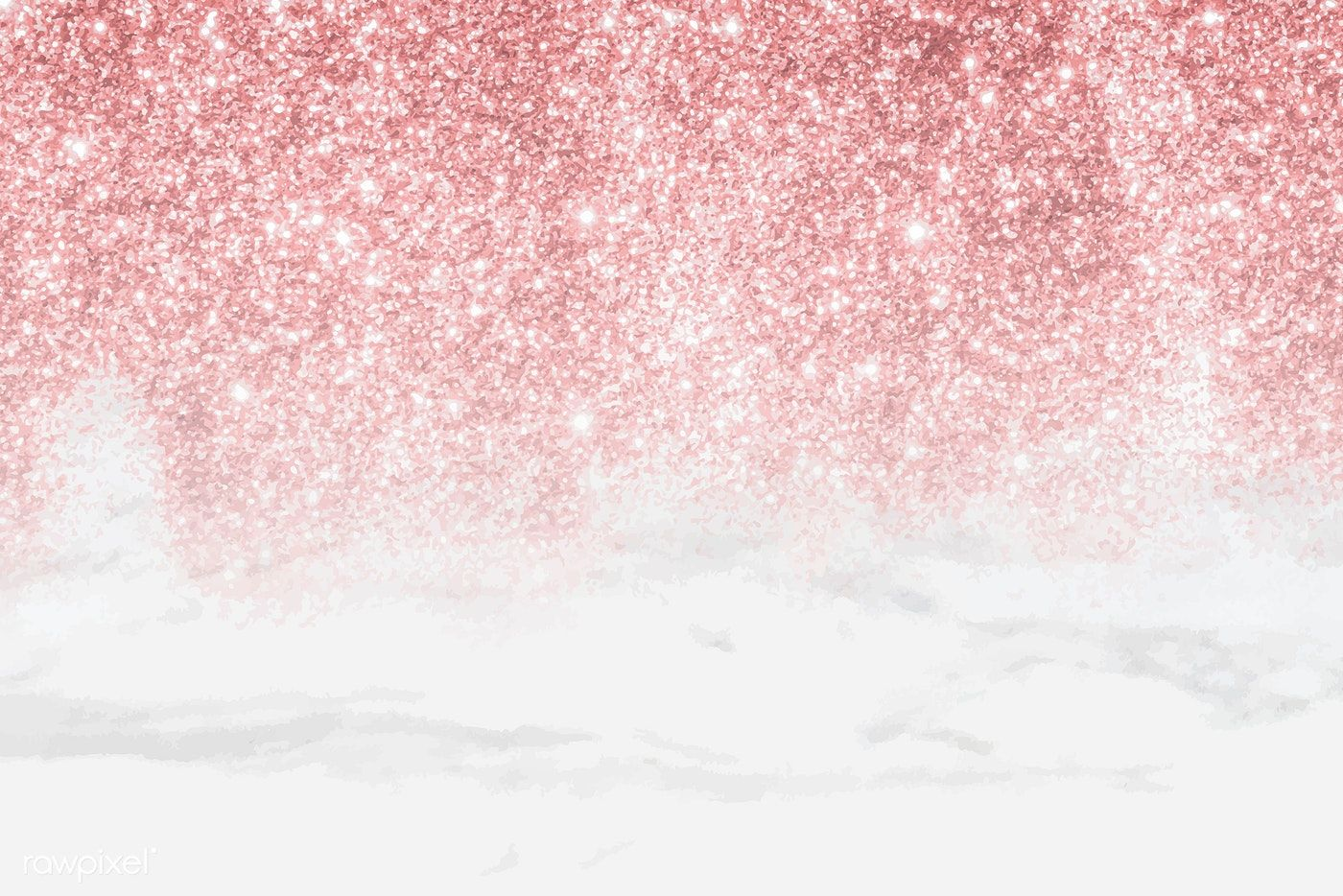 Download Premium Vector Of Pink Glittery Pattern On White Marble Pink Glitter Background Pink Glitter Wallpaper White Marble Background