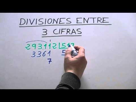 Como Dividir Por Tres Cifras Paso A Paso Como Dividir Por 3 Cifras Mas Rapido Youtube Dividir