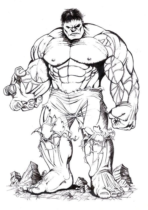Ausmalbilder Hulk Hulk Zum Ausdrucken: Ausmalbilder Hulk Drucken 183 Malvorlage Hulk Ausmalbilder