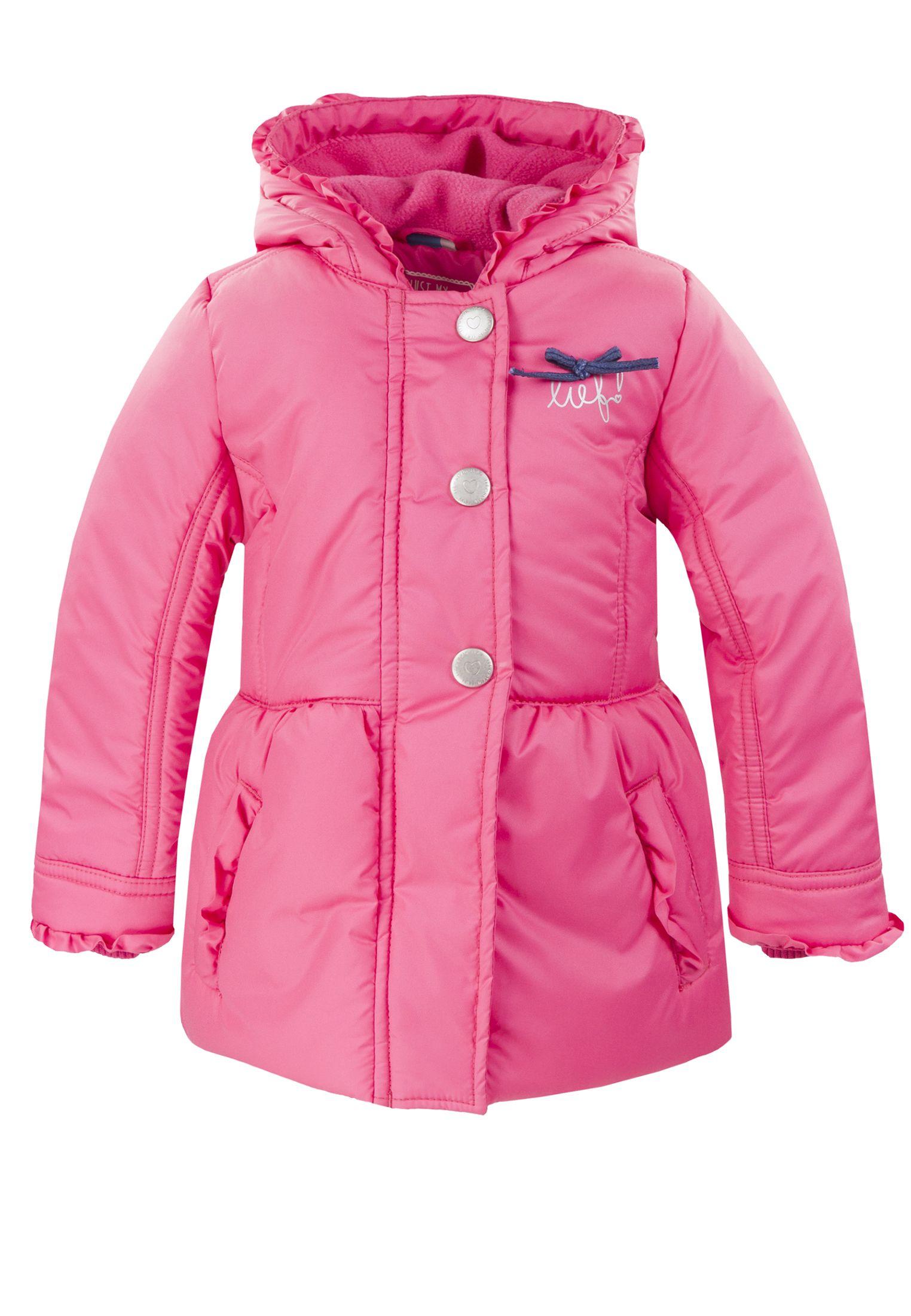 lief! lifestyle meisjes wintercollectie 2016: roze winterjas | lief! lifestyle girls wintercollection 2016 | www.lieflifestyle.nl
