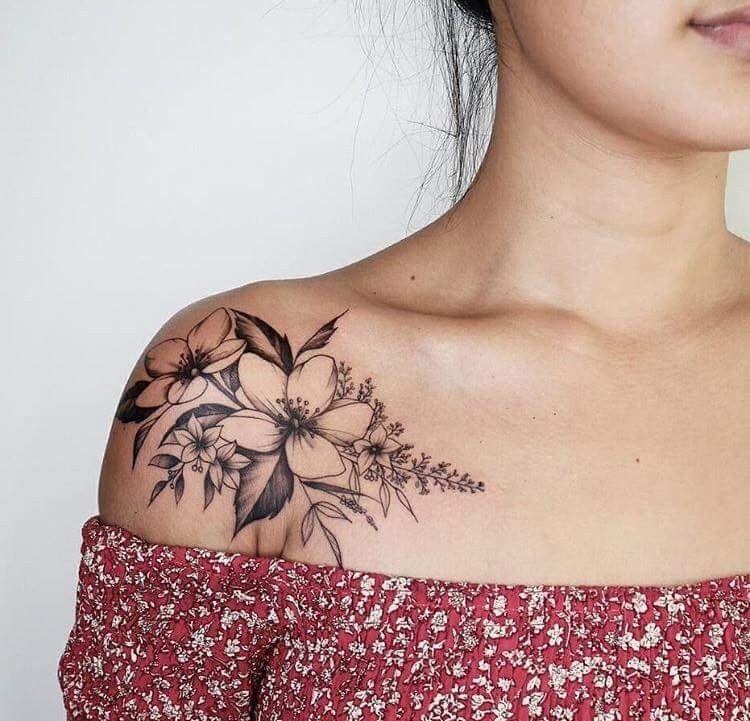 Love This Placement Collar Bone Tattoo Tattoos Trendy Tattoos