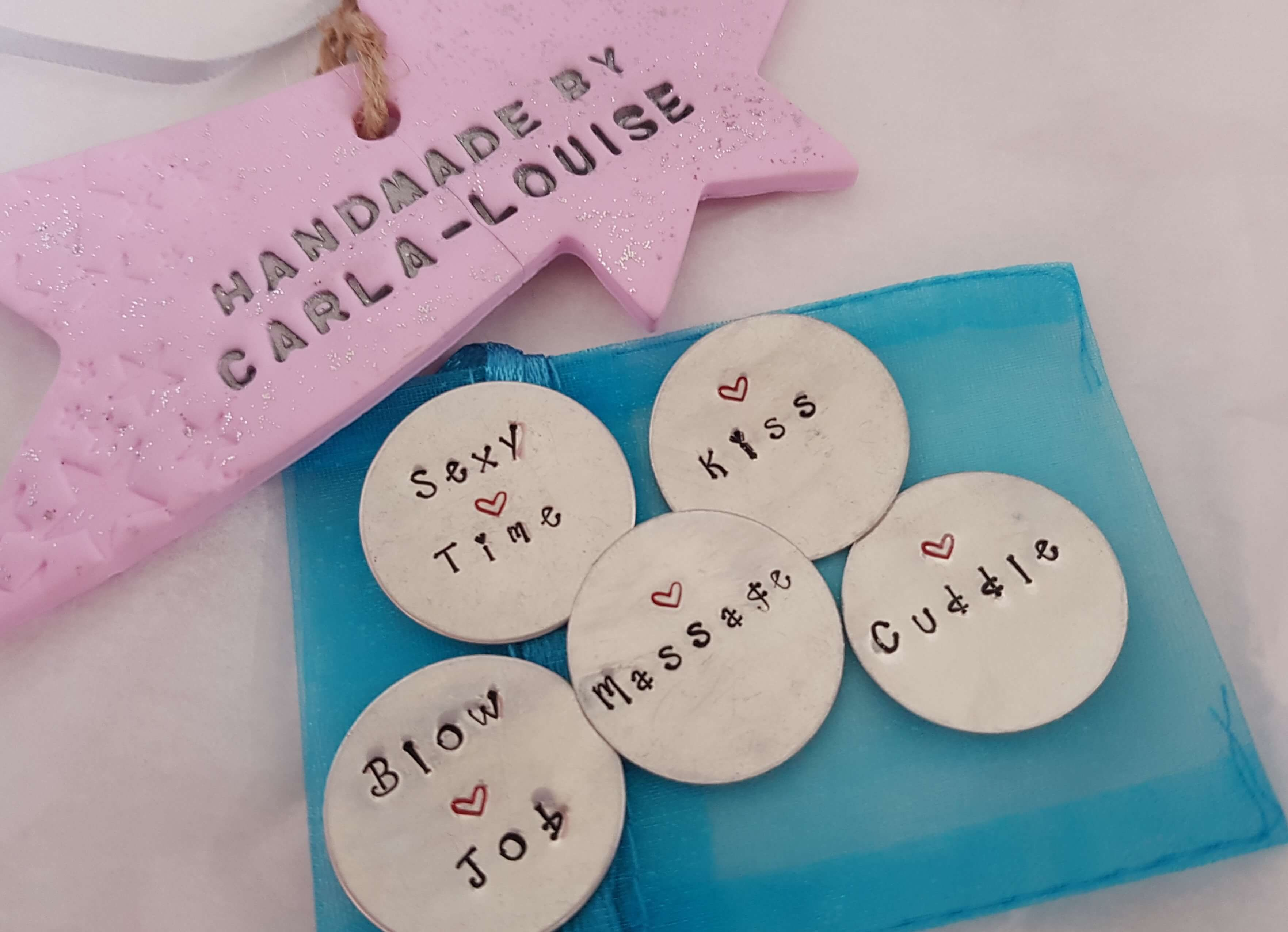 Wording can be changed Love Tokens Heartizan fb8012d150a72