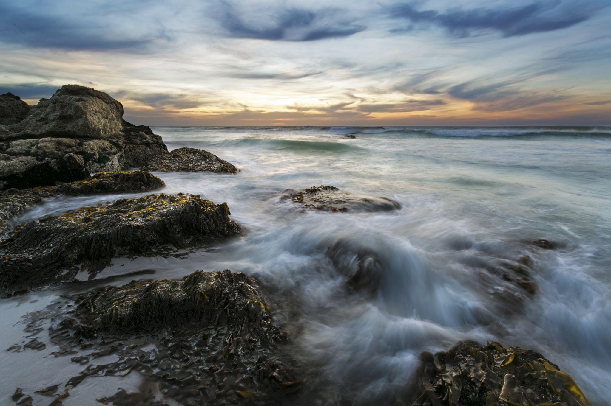 Noordhoek Seascapes - Sunset seascapes from Noordhoek Beach, Cape Town.