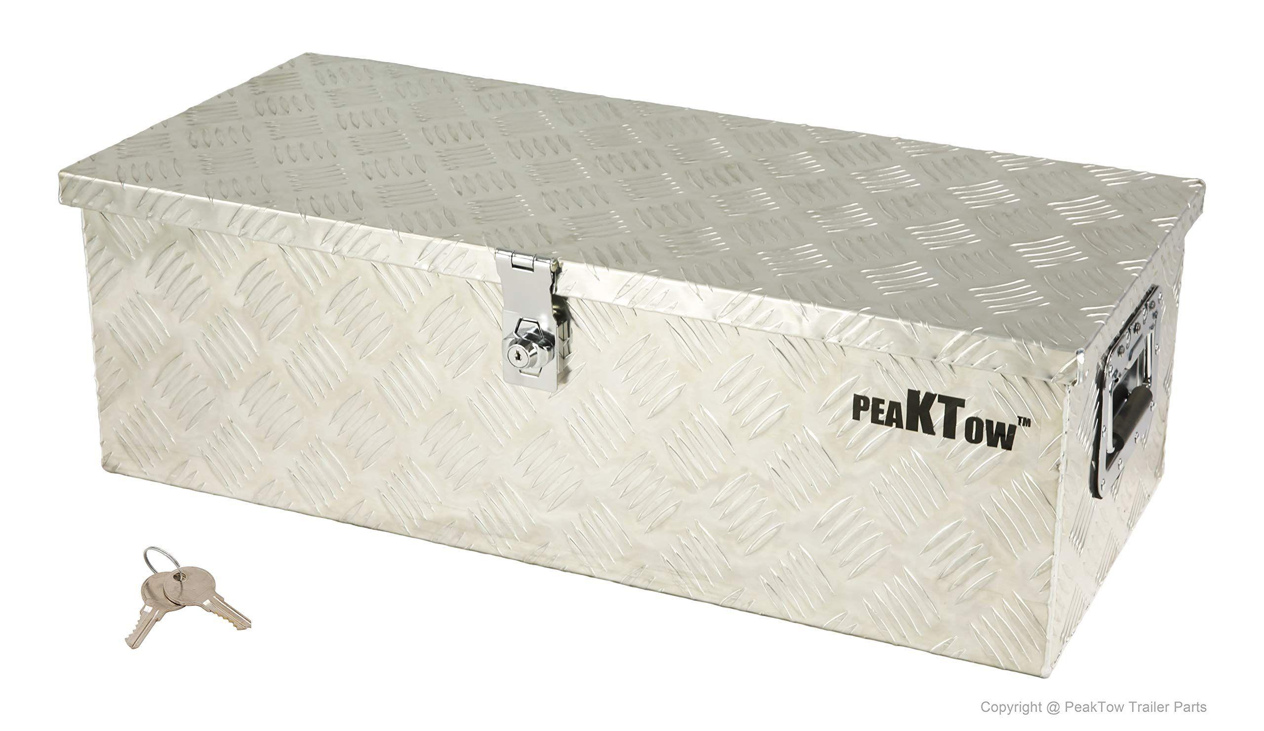 PeakTow PTB0003 Heavy Duty Aluminum 30 x 13 Inch Truck