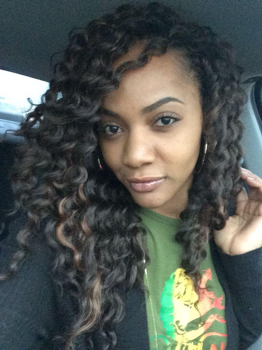 Freetress Deep Twist 4/30 Crochet hair styles, Love hair