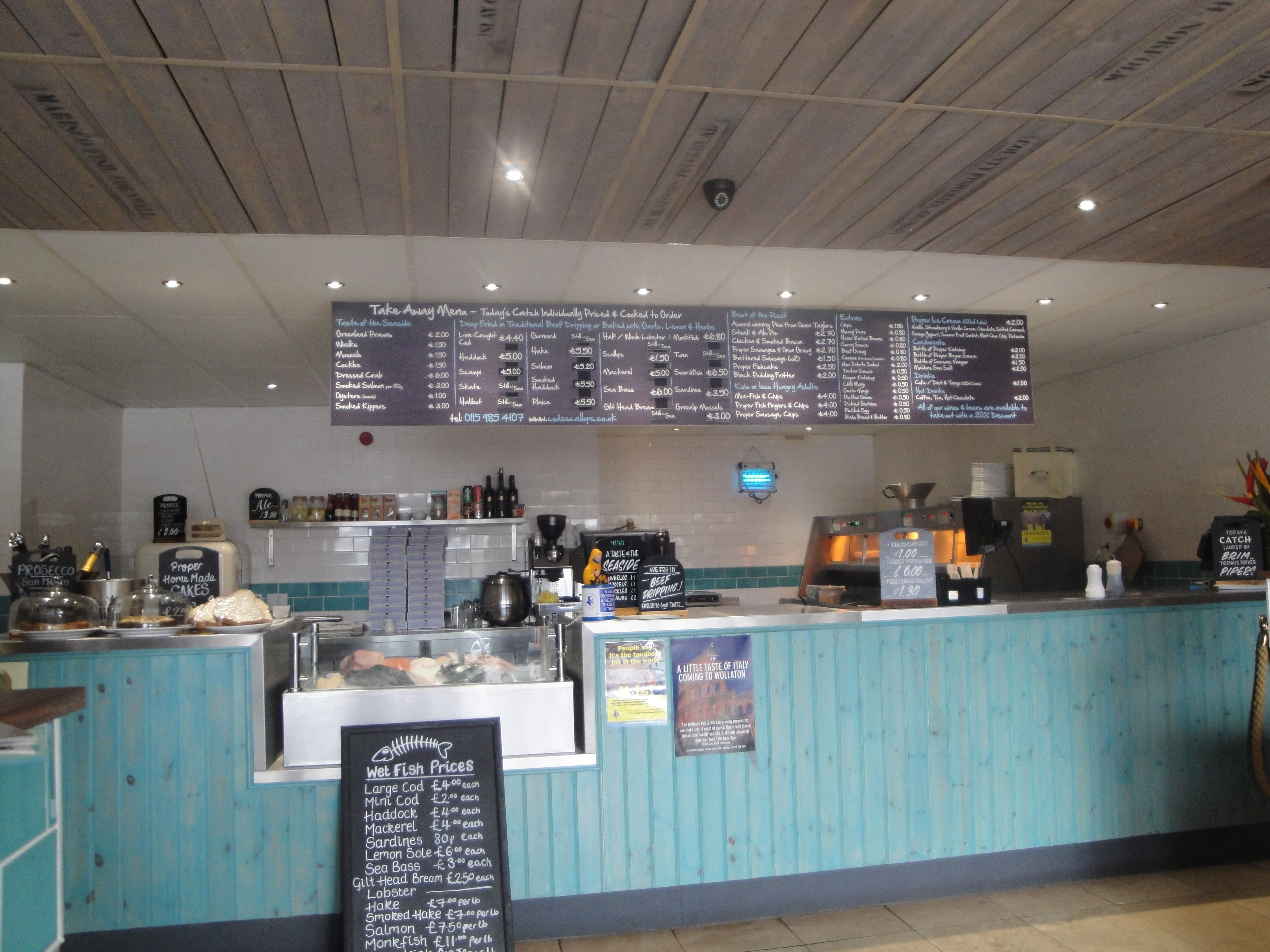 Fish Shop Counter With Images Fish And Chip Shop Chips