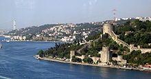 """""""Fortaleza de Rumelihisari"""", margem européia do Bósforo. Istambul. Turquia."""