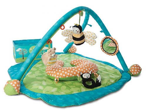 Bon Boppy Gentle Forest Play Gym ($59.99)Part Of The Boppy Gentle Forest Toy  Collection, The Boppy Play Gym Features The Patented SlideLine® Toy  Adjustment ...