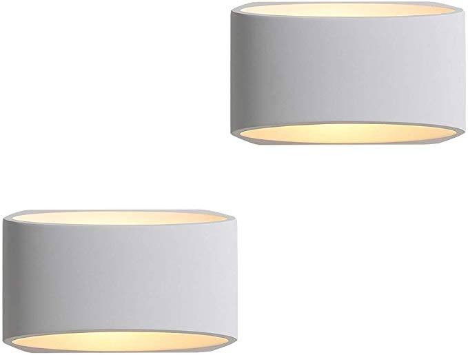 Modern Led Wall Sconces Set Of 2 Sconces Wall Mounted Wall