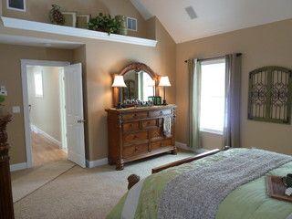 Longmeadow Master Bedroom Vaulted Ceiling Bedroom Ledge Decor Home