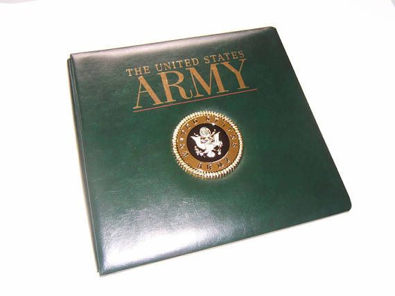 Army Scrapbook Album Army Photo Album Military Scrapbook Album