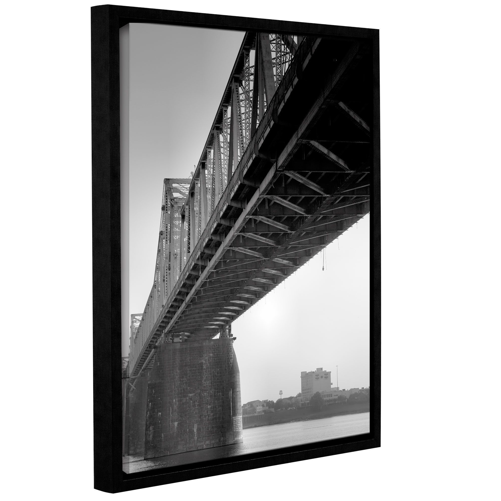 Under the bridge by steve ainsworth framed photographic print on