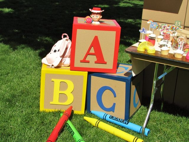 Games To Play At Toy Story Birthday Party : Toy story birthday party the activities the sensible home